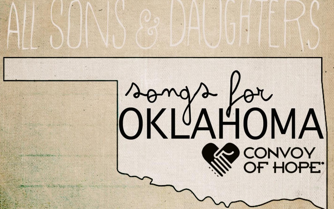 Oklahoma Tornado Relief – All Sons & Daughters Duo Donate 100%!