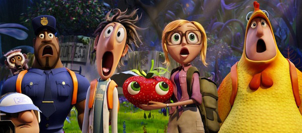 Christian Review-Cloudy With A Chance of Meatballs 2-High Five of Awesomeness!
