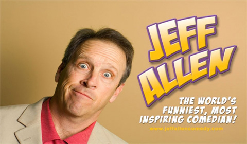 Jeff Allen – Proclaimed As The World's Funniest Comedian… A Christian Review!