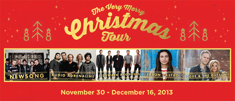 "Sidewalk Prophets – Preparing For ""Merry Christmas To You"" Christmas Tour!"