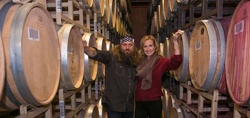 Duck Dynasty Turns Water Into Wine?