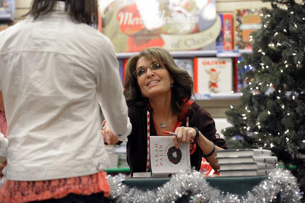 """Sarah Palin's New Book """"Good Tidings and Great Joy"""""""