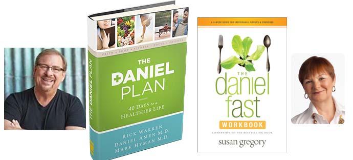 Rick Warren's Book Daniel Plan Verses Susan Gregory's Book Daniel Fast