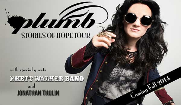 PLUMB Announces STORIES OF HOPE Fall Tour
