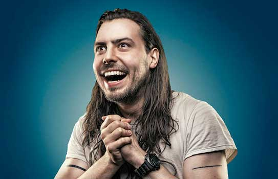 Rock Star Andrew W.K. Shares His Views on Heaven