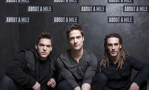 About A Mile's Guitarist/Vocalist Adam Klutinoty Discusses Their Debut Album