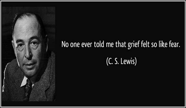 Comforting Thoughts from C.S. Lewis for Times of Grieving