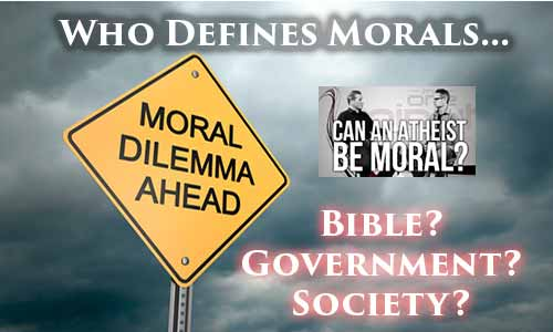 Who Defines Morality: God or the Government?