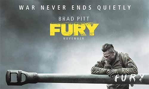 Brad Pitt's Fury, Inspiring Epic: Christian Movie Review