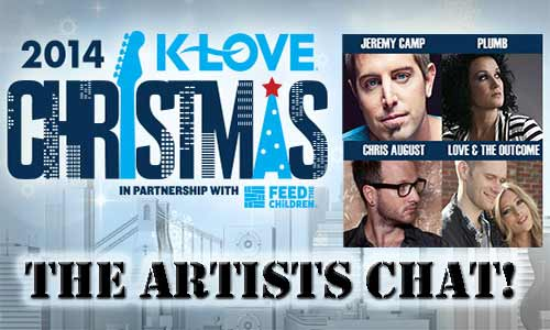 KLOVE Christmas Tour Chat: Jeremy Camp, Plumb & More!