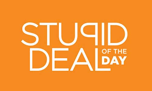 Stupid Deal Of The Day — Big Saving For Your Church