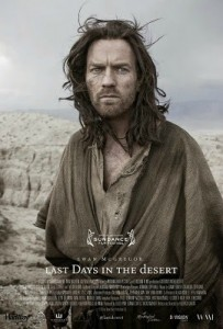 Last Days in the Desert Poster - Article at Rocking God's House