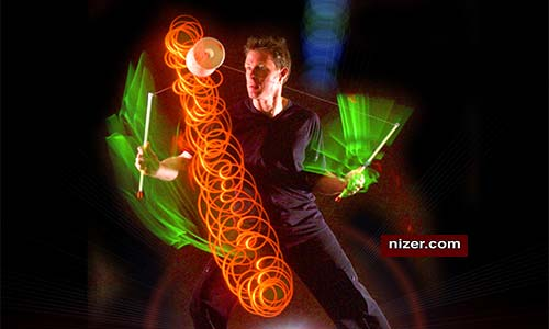 Mark Nizer: The Only Juggling Comedian with Live 3-D!