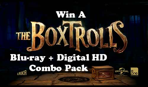The Boxtrolls DVD Movie Giveaway at Rocking God's House!