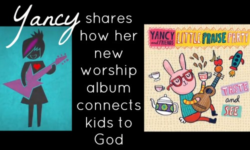 Yancy Shares How Her New Worship Album Connects Kids to God