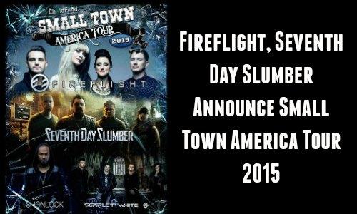 Fireflight, Seventh Day Slumber, Shonlock, Scarlet White Announce Tour