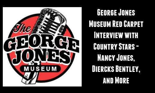 George Jones Museum Red Carpet Interview with Country Stars