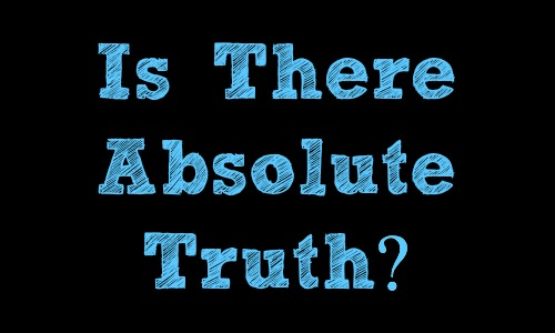 Is There Absolute Truth?