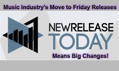 Music Industry's Move to Friday Releases Means Big Changes!
