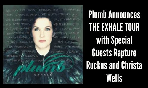 Plumb Announces THE EXHALE TOUR (with Two Special Guests)