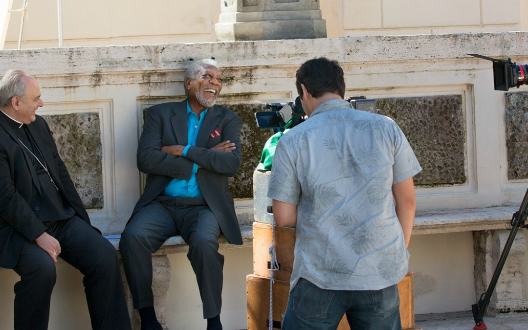 Producer James Younger Talks 'The Story of God' Starring Morgan Freeman