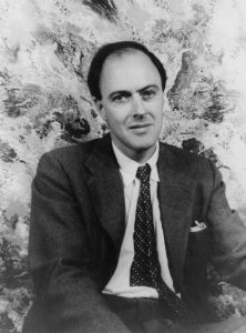 Portrait of Roald Dahl by Carl Van Vechten (1880-1964) from the Van Vechten Collection at Library of Congress