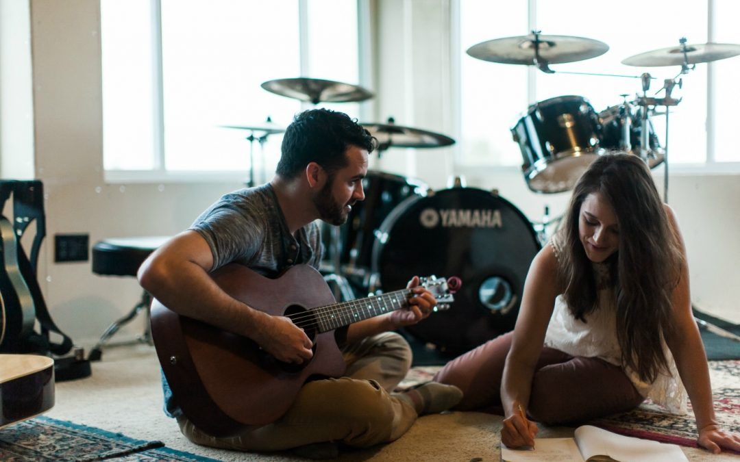 Kat and Jared Hartmann (of Flyleaf) Discuss New Worship EP, Songwriting, and Peanut Butter and Banana Sandwiches