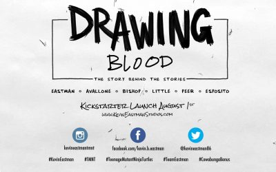 Kevin Eastman, Co-Creator of the Teenage Mutant Ninja Turtles, Talks New Kickstarter Project 'Drawing Blood: The Story Behind the Stories'
