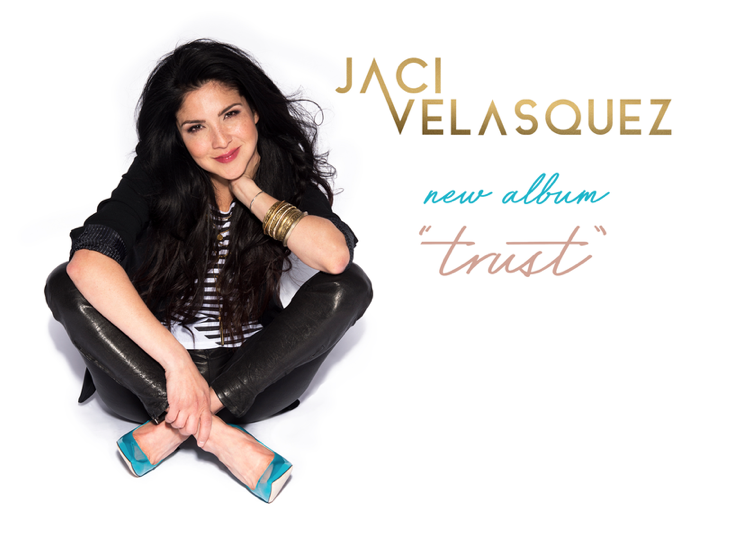 Screen Shot of art for new Jaci Velasquez album Trust