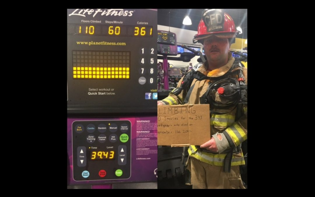 Inspiring Firefighter Climbs 110 Stories in Full Gear to Honor 9/11 Heroes