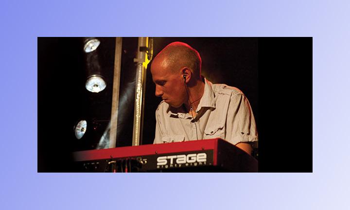 Mike Sandeman at Rocking Gods House