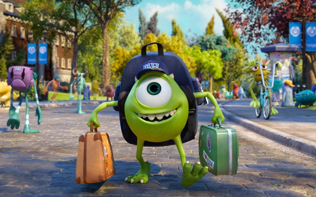 Monsters University Review At Rocking Gods House