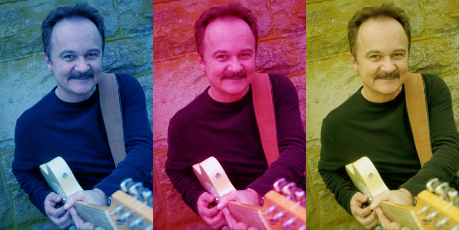 Jimmy Fortune At Rocking Gods House