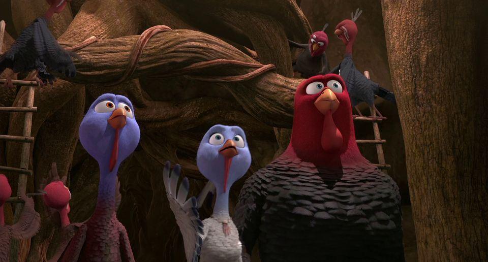 Free Birds Movie At Rocking Gods House