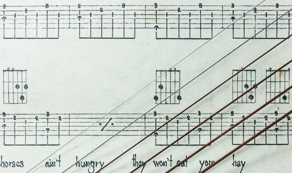 Guitar Chords At Rocking Gods House