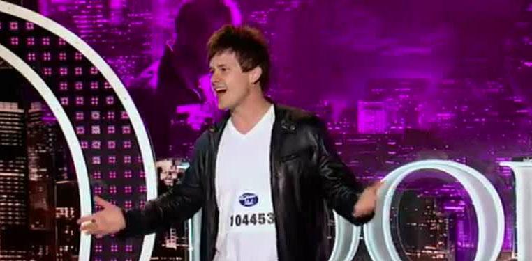 Josh Holiday On American Idol 2013 At Rocking Gods House