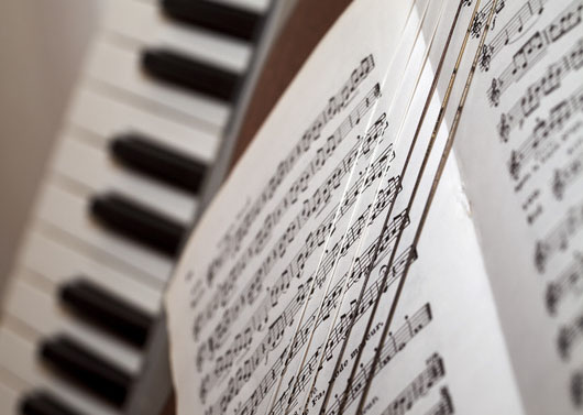 Sheet Music At Rocking Gods House