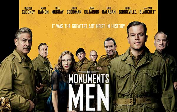 The Monuments Men At Rocking Gods House