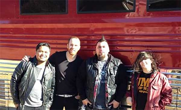 Christian Band Seventh Day Slumber At Rocking Gods House