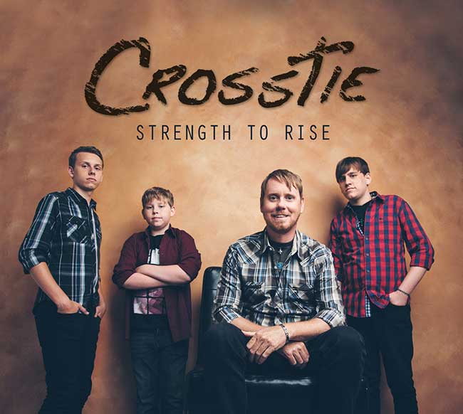 CrossTie Christian Band At Rocking Gods House