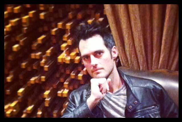 Producer Robert Venable At Rocking Gods House