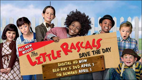 The Little Rascals Save The Day At Rocking Gods House