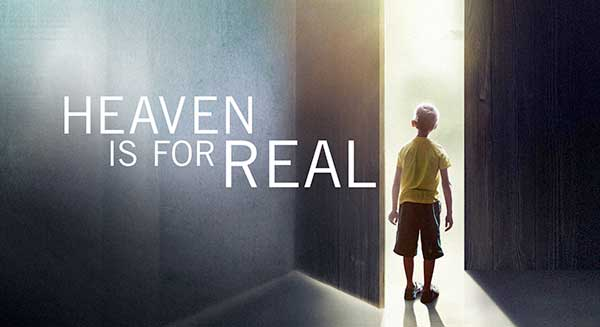 Heaven Is For Real Movie At Rocking Gods House