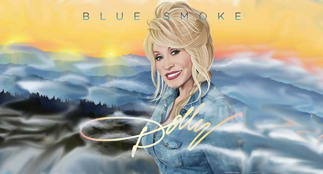 Dolly Parton Blue Smoke Interview At Rocking Gods House