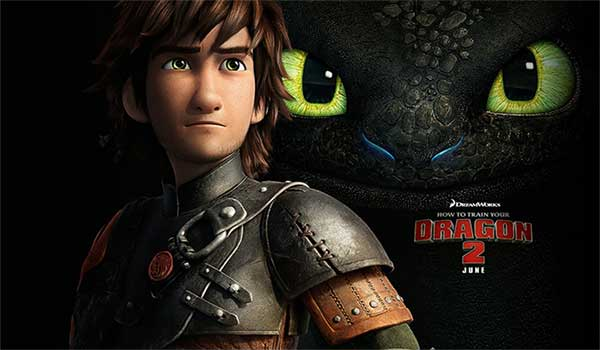 How To Train Your Dragon 2 At Rocking Gods House