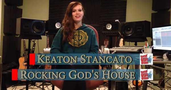 Keaton Stancato At Rocking Gods House
