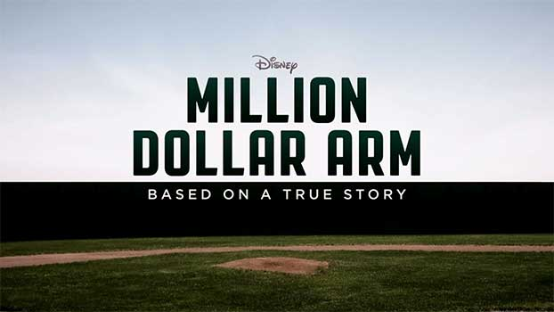 Million Dollar Arm Motion Picture At Rocking Gods House