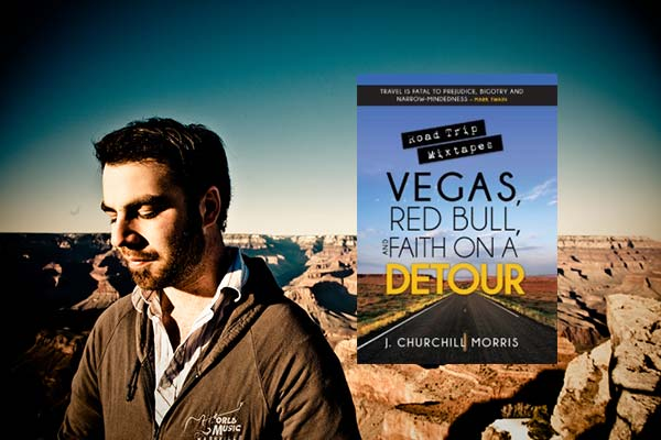 Book Road Trip Mixtapes Vegas Red Bull Faith On a Detour Churchill Morris At Rocking Gods House