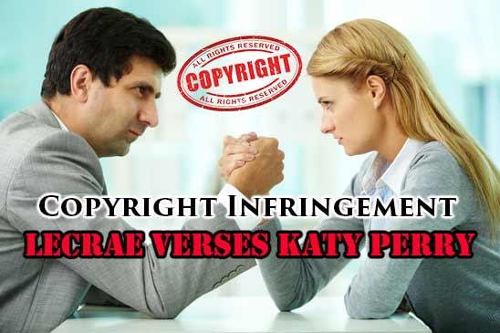 Copyright Infringement Katy Perry Verses Lecrae
