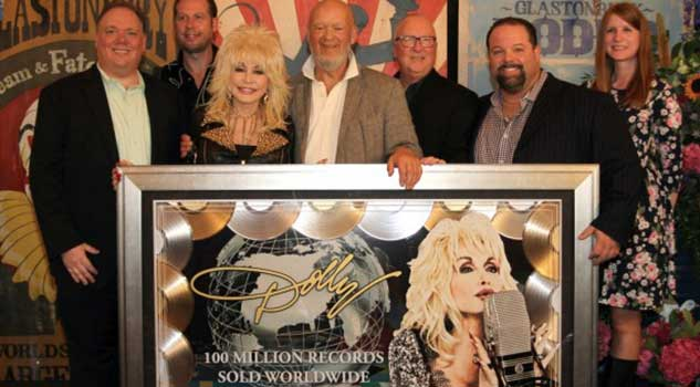 Dolly Parton At Rocking Gods House